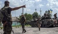 Pertempuran terus berlangsung secara tegang di Ukraina Timur