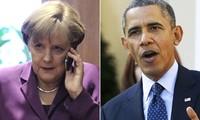 Pemimpin Jerman, Inggeris, Perancis, Italia dan Amerika Serikat mengadakan pembicaraan via telepon tentang situasi dunia.