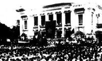 Revolusi Agustus – satu tonggak  merah  dalam sejarah mendirikan Negara dari bangsa Vietnam