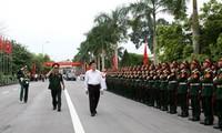 Presiden Vietnam, Truong Tan Sang mengunjungi Markas Komando 2