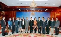 Kejaksaan  Agung Rakyat  Vietnam dan Laos memperkuat kerjasama.