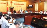 Komite Tetap MN Vietnam memberikan pendapat kepada Pemaparan Proyek tentang proyek memperbarui program dan buku pengajaran umum