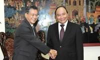 Deputi PM Vietnam, Nguyen Xuan Phuc  menerima Dubes Jepang untuk Vietnam, Hiroshi Fukada