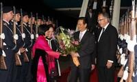 Media Jerman memuat berita tentang kunjungan PM Vietnam Nguyen Tanh Dung  di negara ini.