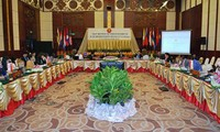Konferensi  ke-16 Komite Koordinasi tentang pelaksanaan  Perjanjian  Perdagangan Barang Dagangan (CCA) di Laos