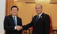 Aktivitas Presiden Vietnam, Truong Tan Sang di sela-sela APEC-22.