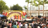 Vietnam memperkenalkan  aspek-aspek  kebudayaan yang khas  di Hongkong-Tiongkok.