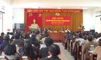 Pembukaan Konferensi ke-5  Pengurus Besar Konfederasi Serikat  Pekerja Vietnam (angkatan ke-11)