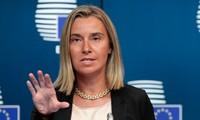 Uni Eropa  tetap mempertahankan politik menimbulkan tekanan terhadap Rusia
