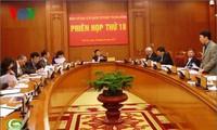 Presiden Truong Tan Sang memimpin sidang  ke-18 Badan Pengarahan Reformasi Hukum Komite Sentral