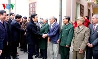 Presiden  Truong Tan Sang melakukan temu kerja di provinsi Hai Duong