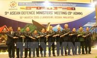 Konferensi ADMM-9 mengeluarkan Pernyataan bersama tentang mempertahankan keamanan dan kestabilan di kawasan demi  rakyat dan oleh rakyat