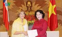 Wakil Ketua MN Vietnam, Nguyen Thi Kim Ngan menerima Wakil Ketua Majelis Rendah Cile