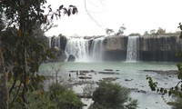 Air terjun Dray Nur - keindahan  yang megah di daerah pegunungan Tay Nguyen