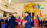 Vietnam-Federasi Rusia  menandatangani banyak program kerjasama  kesehatan yang penting
