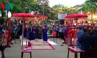 Penutupan Festival  Desa Kerajinan tradisional  Hue-tahun 2015.