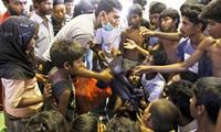 Sekjen PBB  Ban Ki-moon menyatakan kecemasan tentang masalah  migran di Asia Tenggara.