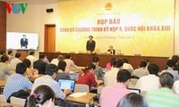 Jumpa pers untuk mengumumkan persidangan ke-9 MN Vietnam angkatan ke-13