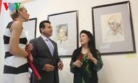 """Pameran: Jenderal Vo Nguyen Giap – saat-sat kehidupan sehari-hari dengan lukisan"""""""