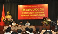 90 tahun Pers Revolusioner Vietnam: Tradisi, kapabilitas dan tangung jawab.