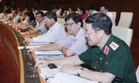 MN Vietnam memberikan suara mengesahkan Resolusi tentang program aktivitas pengawasan MN-tahun 2016.