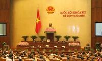 Jumpa pers mengumumkan hasil persidangan ke-9 MN angkatan ke-13