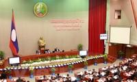 Pembukaan Persidangan ke-9 Parlemen Laos angkatan ke-7
