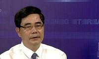 Menteri Pertanian dan Pengembangan Pedesaan Vietnam, Cao Duc Phat melakukan temu kerja dengan pimpinan provinsi Soc Trang