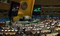 PBB sepakat dengan rancangan  rencana perkembangan yang berkesinambungan