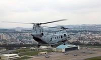 Jepang menghentikan sementara  rencana  pengaturan kembali pangkalan  militer AS di provinsi Okinawa