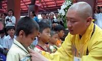 """Program temu pergaulan kesenian dan kebudayaan Buddha: """"Ibunda dan Tanah Air Vietnam""""."""