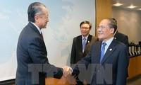 Ketua MN Vietnam Nguyen Sinh Hung mengakhiri kunjungan resminya di AS