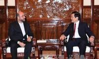 Vietnam menghargai hubungan dengan kawasan Timur Tengah, termasuk Iran.