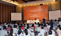 Mengevaluasikan  program gagasan mencegah dan memberantas korupsi Vietnam