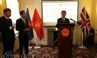 Peresmian Kantor Atase Pertahanan Vietnam di Kerajaan Inggeris.