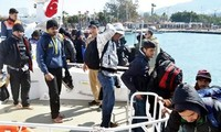 Turki menegaskan kerjasama  dengan Jerman untuk mencegah arus kaum migran yang tidak sah