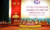 Pembukaan Kongres Organisasi Partai Komunis Vietnam  kota Hanoi dan  provinsi Hung  Yen untuk tahap 2015-2020