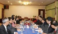 Laos memberikan apresiasi atas  hasil kerjasama  dengan Vietnam di kawasan perbatasan.