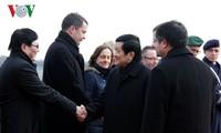 Presiden Vietnam, Truong Tan Sang memulai aktivitas-aktivitas dalam  kunjungan kenegaraan di Republik Federasi Jerman.