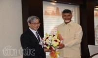 Negara bagian Andra Preadesh  (India)  ingin memperkuat kerjasama di banyak bidang dengan Vietnam