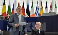 Uni Eropa mengadakan pertemuan puncak terakhir pada tahun 2015