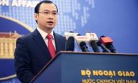 Vietnam merasa cemas akan peluncuran percobaan dan penggunaan teknologi  misil balastik oleh RDR Korea