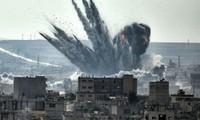 Turki melepaskan tembakan terhadap pangkalan  angkatan udara yang diduduki oleh orang Kurdi di Suriah