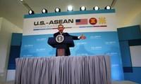 Presiden AS, Barack Obama berseru menurunkan suhu ketegangan di Laut Timur