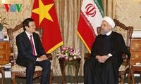 Selar kunjungan Presiden Truong Tan Sang di tiga negara Tanzania, Mozambik dan  Iran