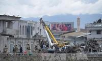 Serangan bom di Kabul, ibukota Afghanistan membuat  puluhan orang menjadi korban