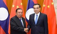 Tiongkok dan Laos  mendorong hubungan kemitraan strategis dan komprehensif