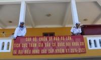 Kabupaten pulau Truong Sa, provinsi Khanh Hoa menyelesaikan pekerjaan persiapan pemilihan