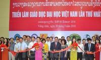 Pameran pendidikan tinggi Vietnam kali pertama di Laos
