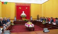 Kementerian Keamanan Publik Vietnam dan Kementerian Dalam Negeri Rusia mengadakan pembicaraan